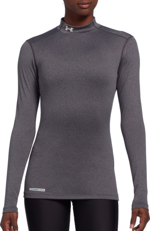 5f9aa9f16b0 Under Armour Women s Fitted ColdGear Mockneck Shirt