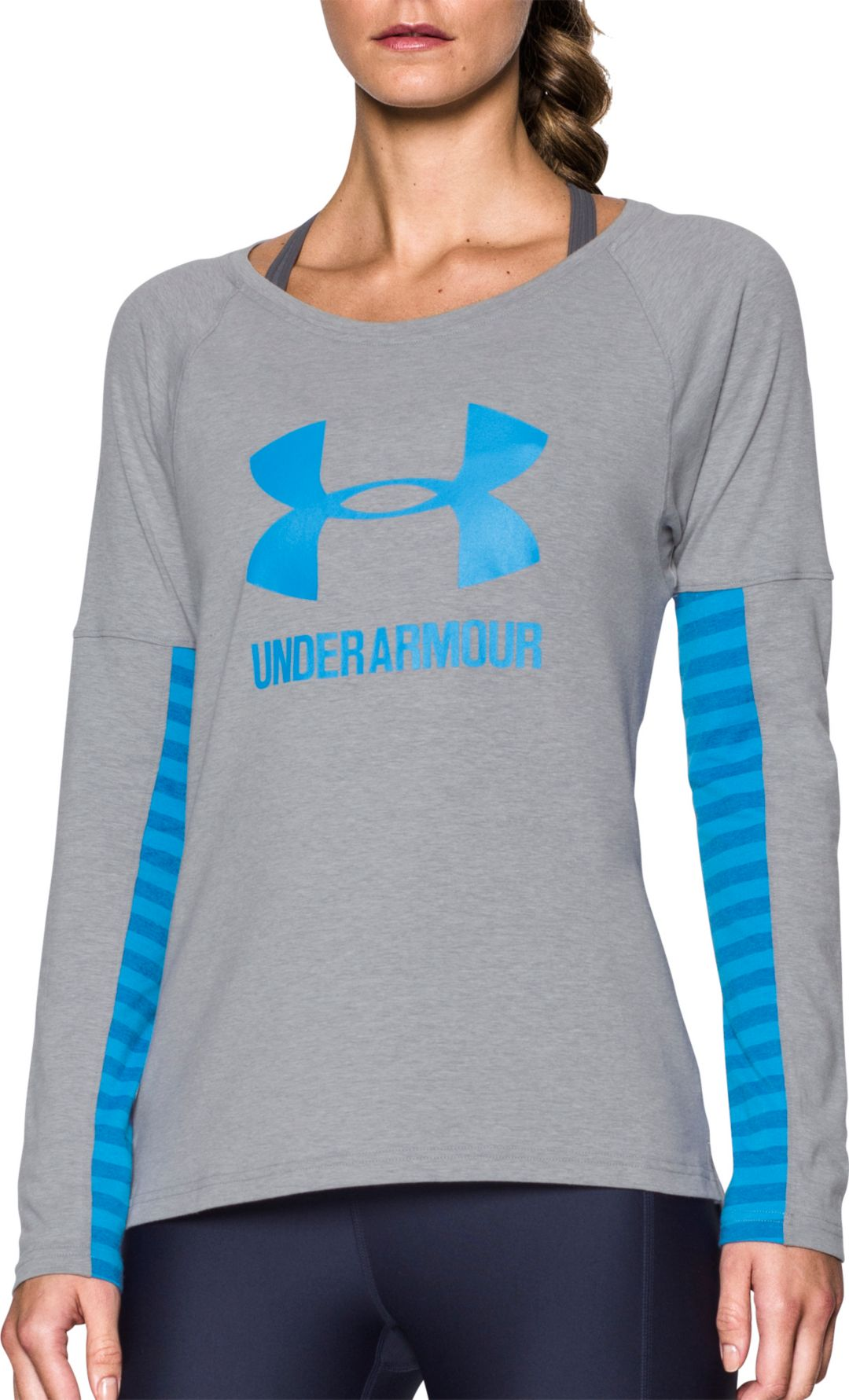 finest selection bd212 1c473 Under Armour Women s Rest Day Sportstyle Long Sleeve Shirt 1