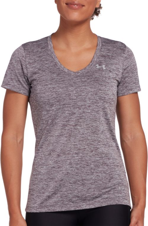 f08c396a Under Armour Women's Twisted Tech V-Neck Shirt. noImageFound. Previous