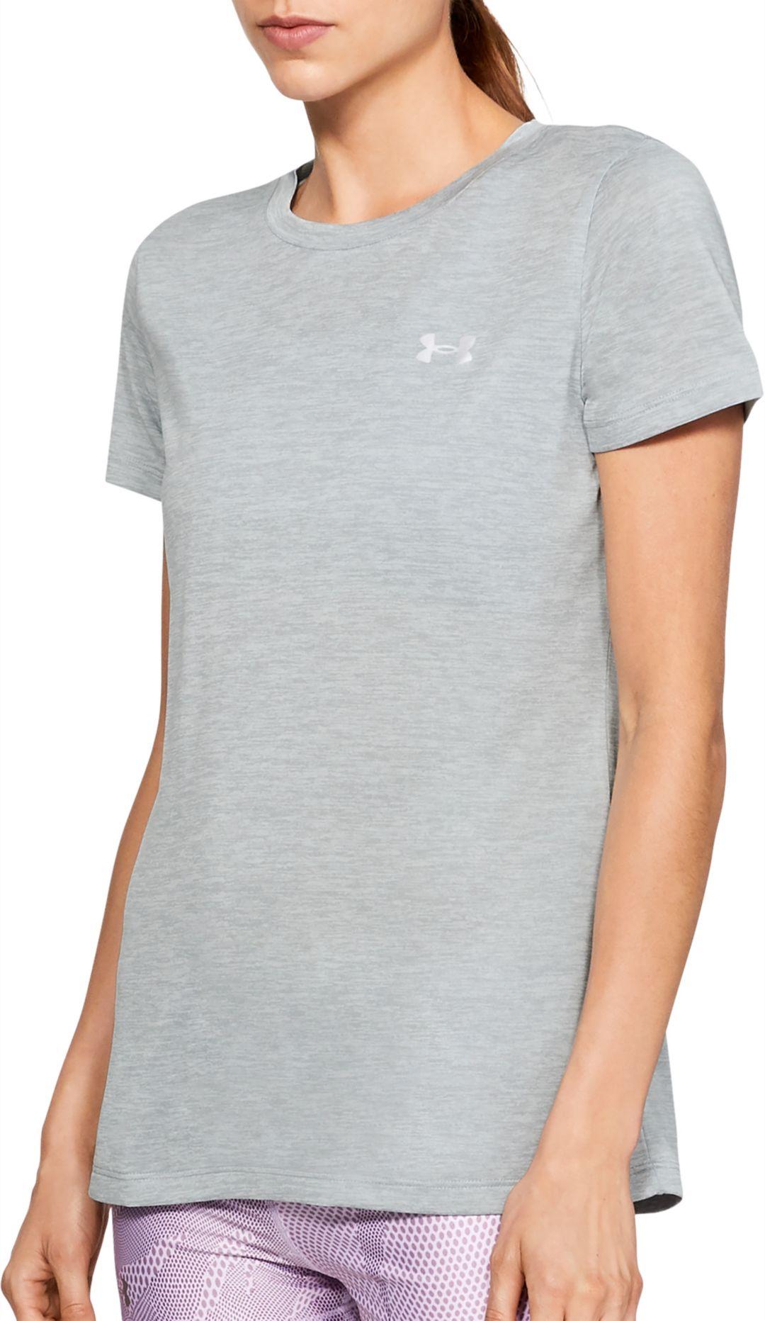 b269b59a Under Armour Women's Tech Twist Print Crewneck T-Shirt   DICK'S ...