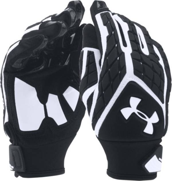 Under Armour Youth Combat Full Finger Lineman Gloves product image
