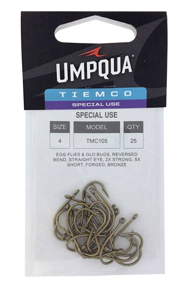 Umpqua Tiemco TMC 105 Egg Fies and Glo Bug Hook product image