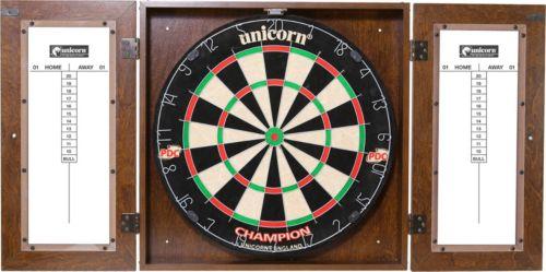 Unicorn Dynasty Bristle Dartboard Cabinet Set
