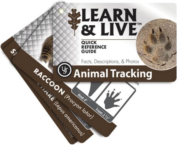 UST Animal Tracking Learn and Live Cards product image