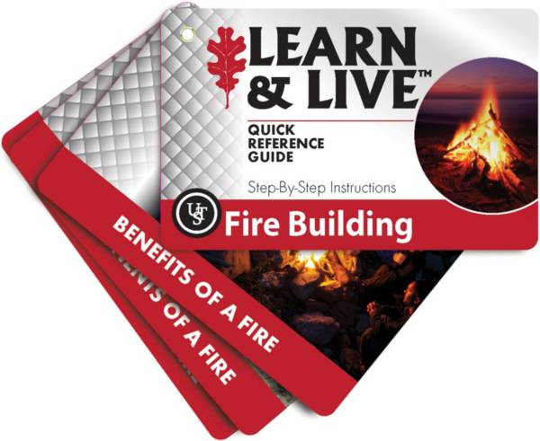 UST Fire Building Learn and Live Cards product image