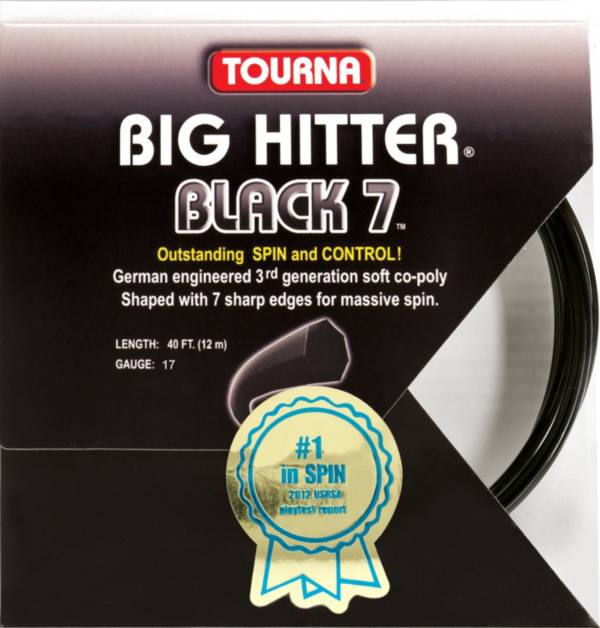 Tourna Big Hitter Black 7 17 Racquet String Set product image