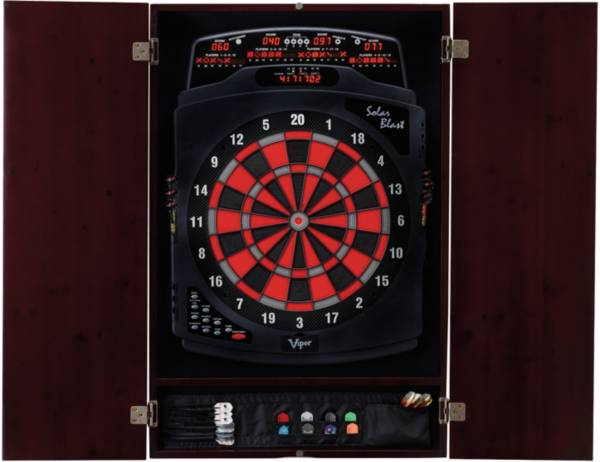 Viper Metropolitan Mahogany Dartboard Cabinet product image