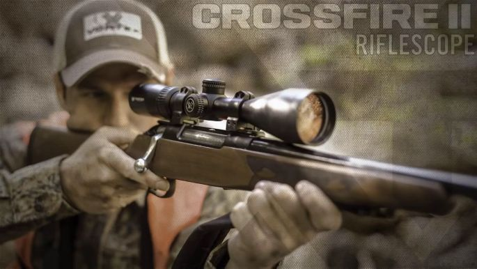 Vortex Crossfire II 6-24x50 AO Rifle Scope with Dead-Hold BDC Reticle