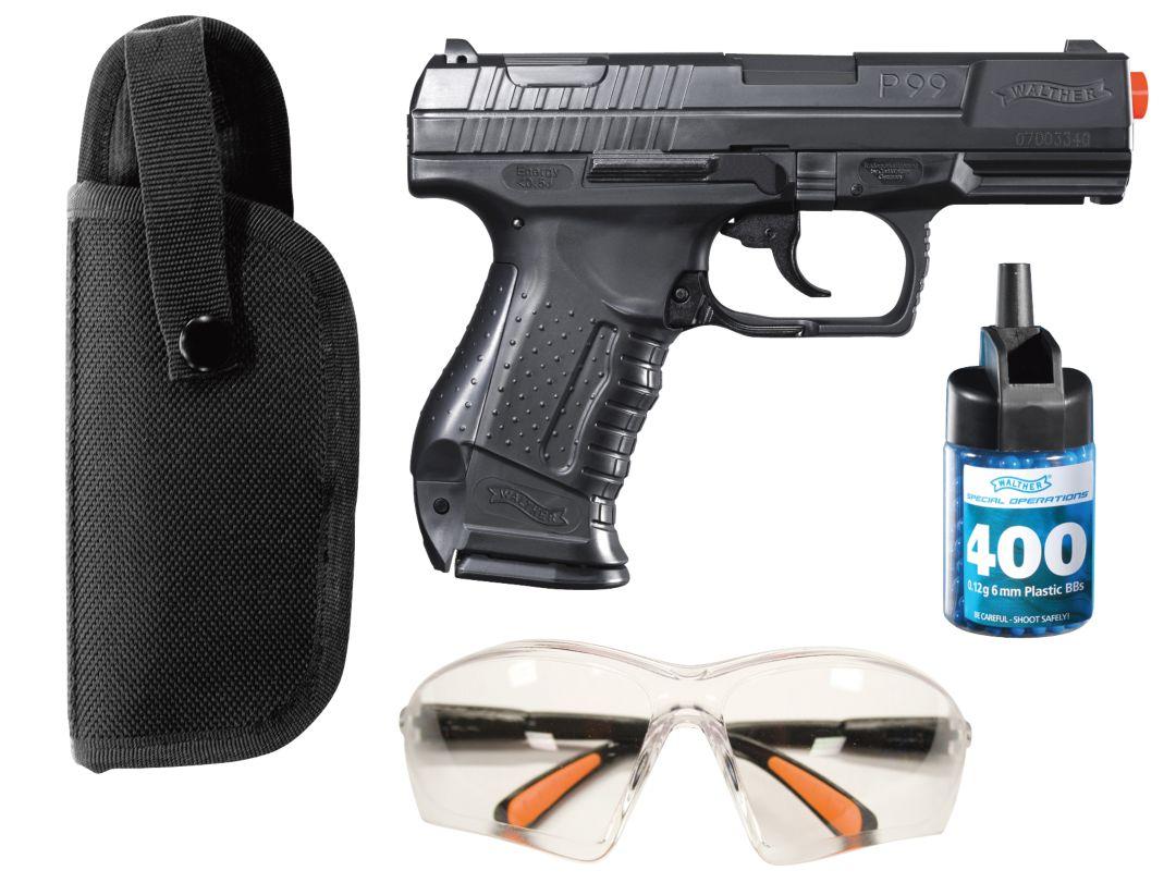 Walther P99 Airsoft Gun Kit