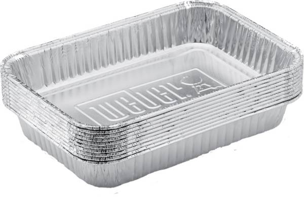 Weber Small Drip Pans- 10 Pack product image