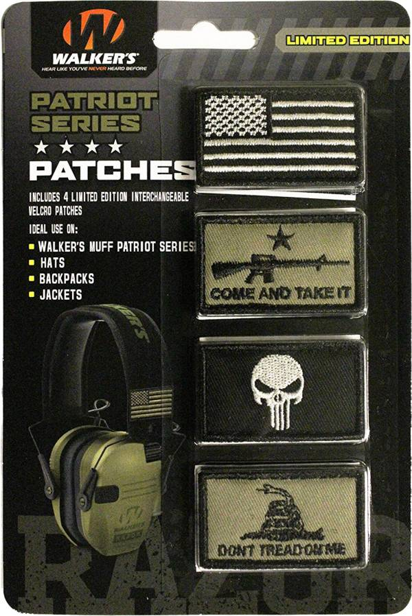 Walker's Game Ear Patriot Patch Kit product image