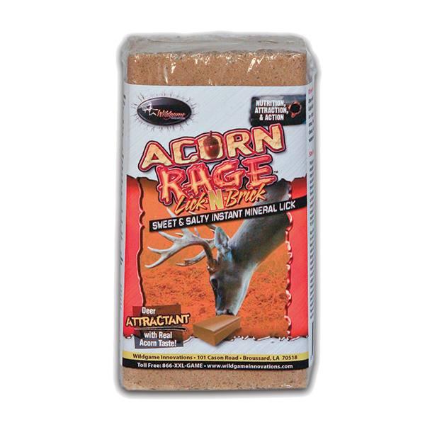 Wildgame Innovations Acorn Rage Lick-N-Brick Salt Block product image
