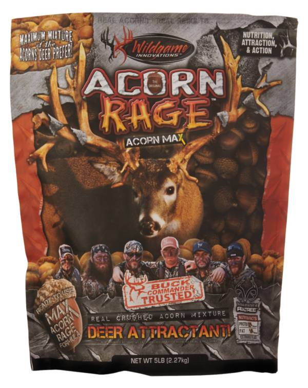 Wildgame Innovations Buck Commander Acorn Rage Attractant – 5 lbs product image