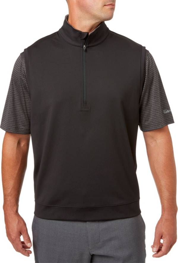 Walter Hagen Men's Essentials Quarter-Zip Golf Vest product image