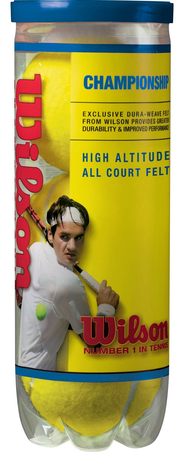 Wilson Championship High Altitude Tennis Balls - 3 Ball Pack product image