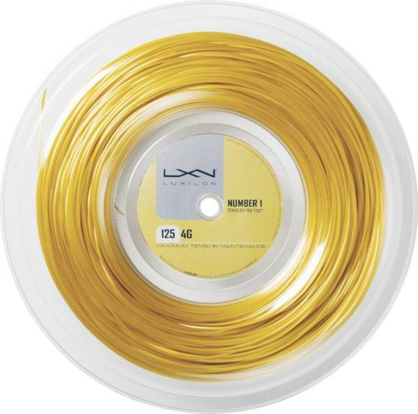 Luxilon 4G 16L Tennis String – 200M Reel product image