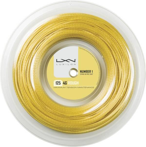 Luxilon 4G Rough 16L Tennis String – 200M Reel product image