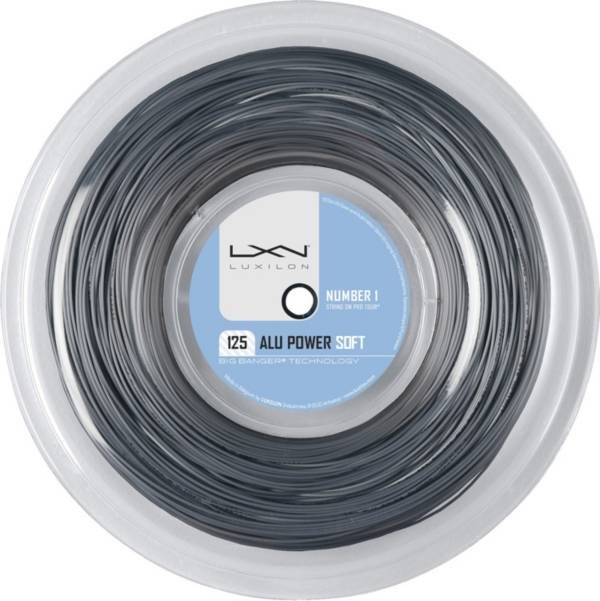 Luxilon ALU Power Soft 16L Tennis String – 200M Reel product image
