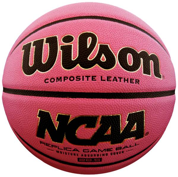 "Wilson NCAA Replica Pink Basketball (28.5"") product image"