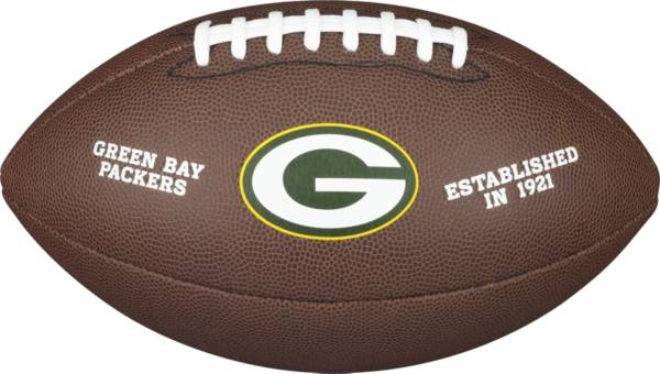 Wilson Green Bay Packers Composite Official-Size Football product image