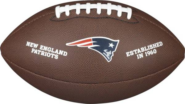 Wilson New England Patriots Composite Official-Size Football product image
