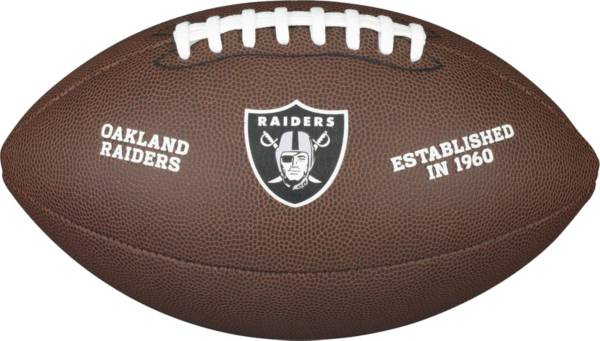Wilson Oakland Raiders Composite Official-Size Football product image