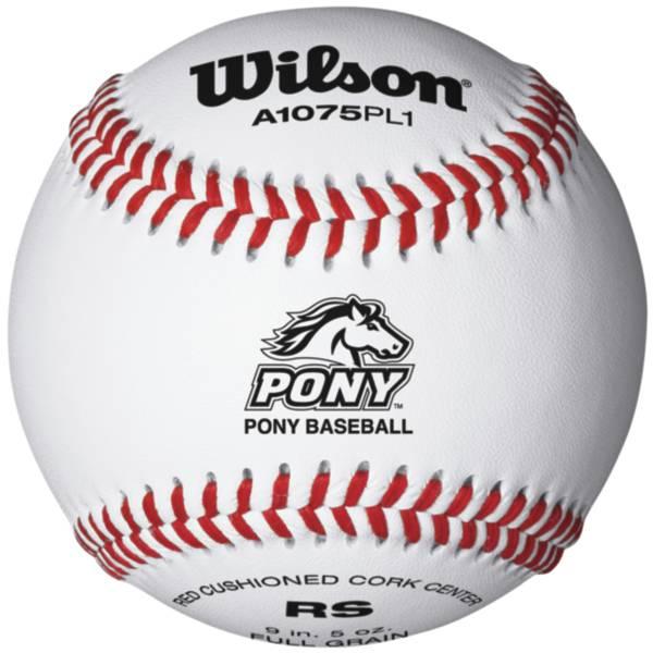 Wilson A1075 PL1 Pony League Baseball product image
