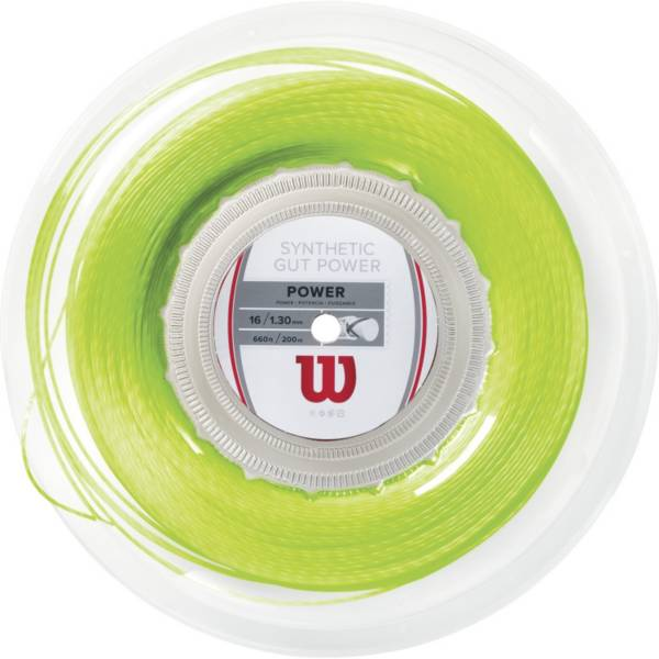 Wilson Synthetic Gut Power 16 Tennis String – 200M Reel product image
