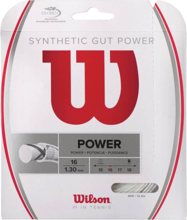 Wilson Synthetic Gut Power 16 Racquet String product image