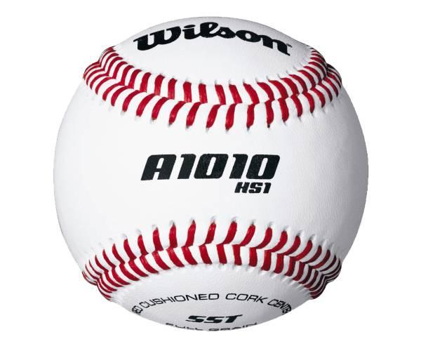 ONE DOZEN BOX  WILSON A1030 Official League FULL GRAIN LEATHER Baseball Ball