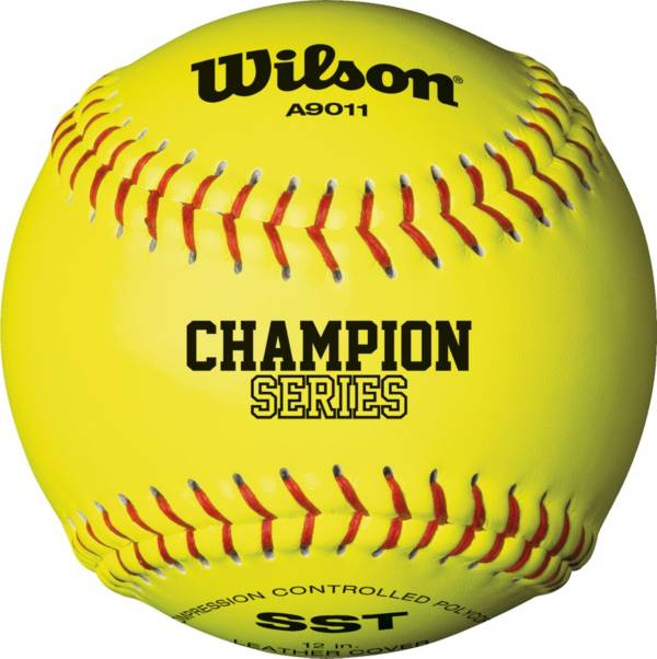 "Wilson 12"" NFHS Champion Series Fastpitch Softball product image"