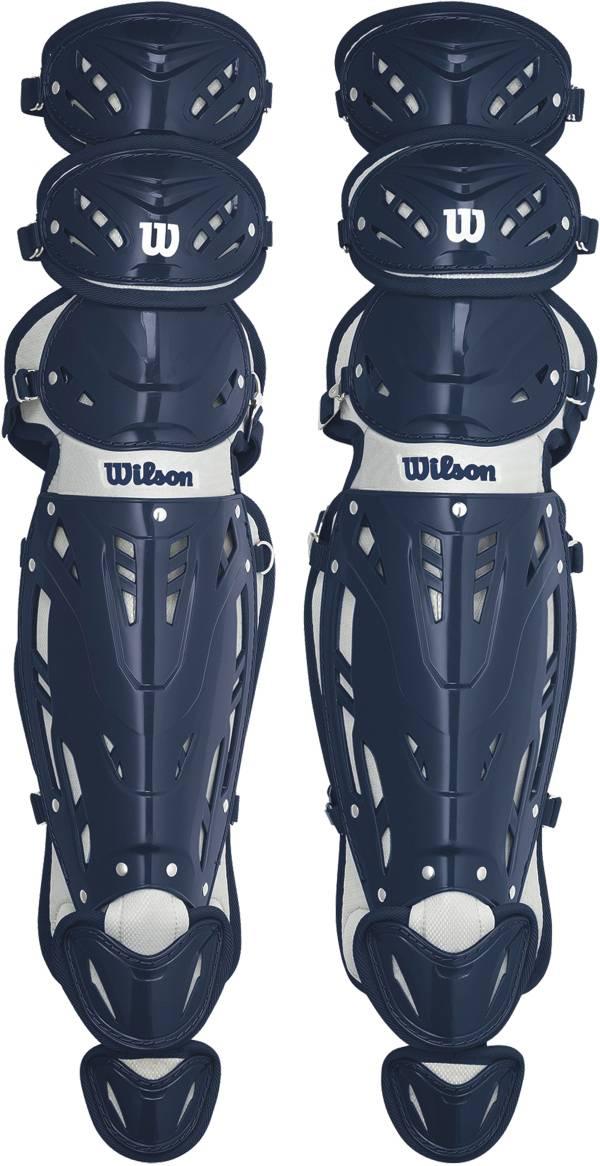 Wilson Adult Pro Stock 14.5'' Catcher's Leg Guards product image