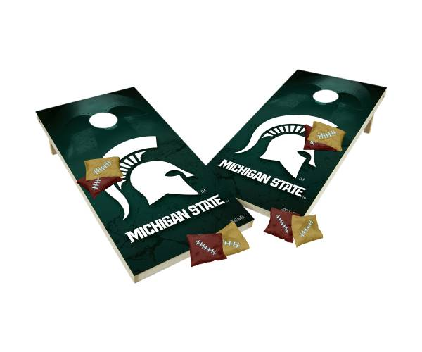 Wild Sports 2' x 4' Michigan State Spartans XL Tailgate Bean Bag Toss Shields product image
