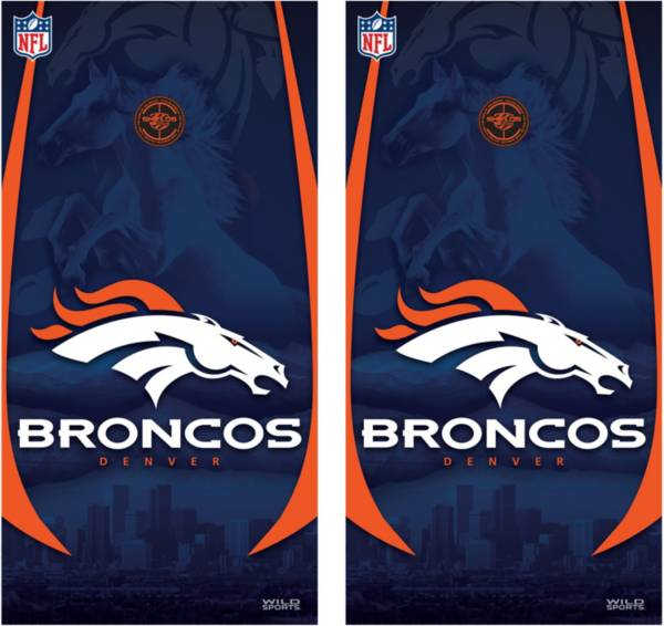 Wild Sports Denver Broncos Tailgate Bean Bag Toss Shield Decals product image