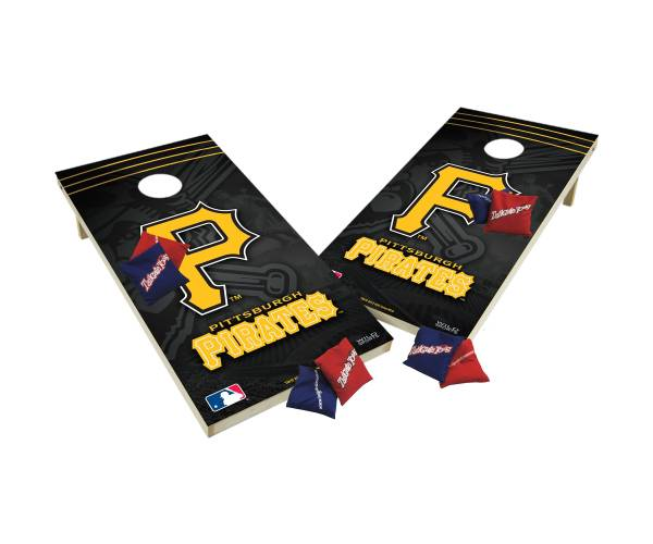 Wild Sports 2' x 4' Pittsburgh Pirates XL Tailgate Bean Bag Toss Shields product image