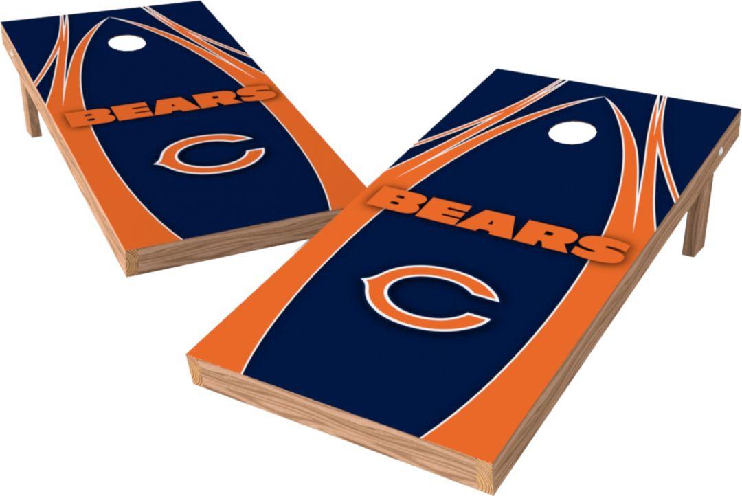 wholesale dealer 81059 2b6f6 Wild Sports 2' x 4' Chicago Bears XL Tailgate Bean Bag Toss Shields