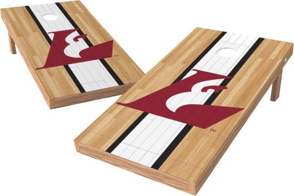 Wild Sports 2' x 4' Wisconsin La Crosse Eagles XL Tailgate Bean Bag Toss Shields product image