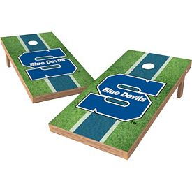 Amazing Wild Sports 2 X 4 Wisconsin Stout Blue Devils Xl Tailgate Bean Bag Toss Shields Gmtry Best Dining Table And Chair Ideas Images Gmtryco