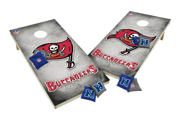 Wild Sports 2' x 4' Tampa Bay Buccaneers XL Tailgate Bean Bag Toss Shields product image