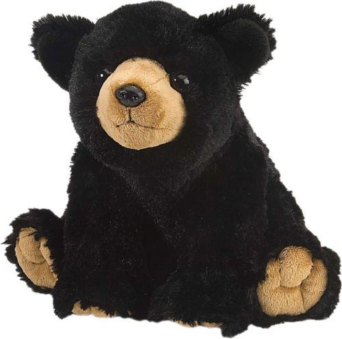 6a171e3a78f Wild Republic Cuddlekins Black Bear Stuffed Animal 1
