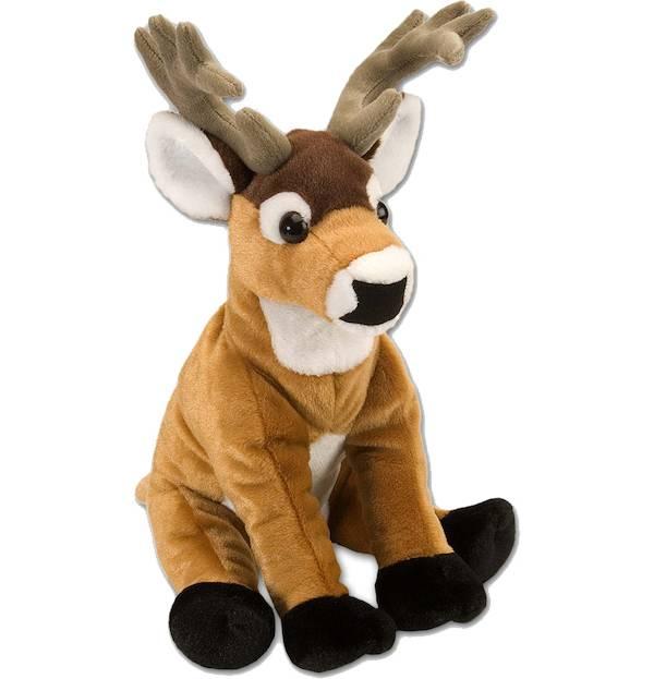 Wild Republic Cuddlekin White Tail Deer Stuffed Animal product image