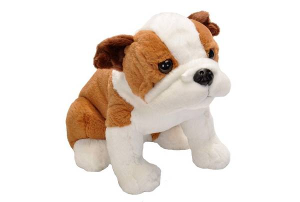 Wild Republic Sitting Bulldog Stuffed Animal product image