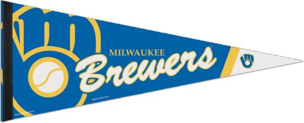 WinCraft Milwaukee Brewers Premium Quality Pennant product image