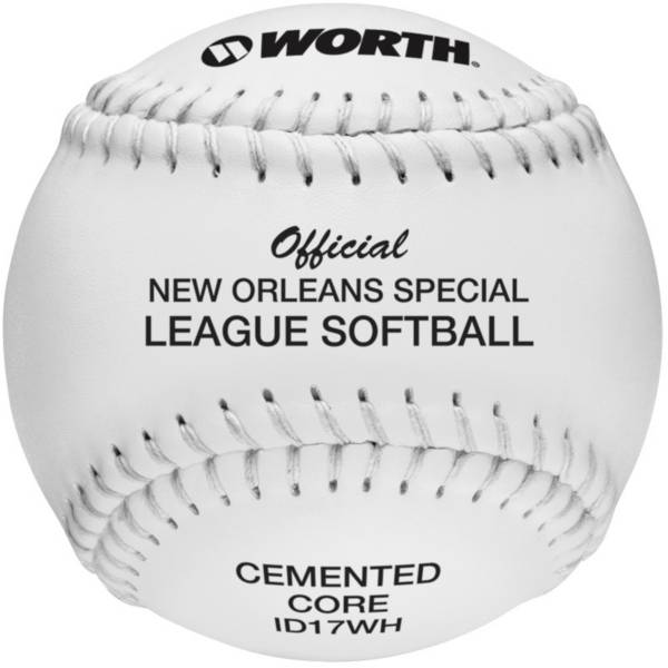 """Worth 17"""" Official New Orleans Slow Pitch Softball product image"""