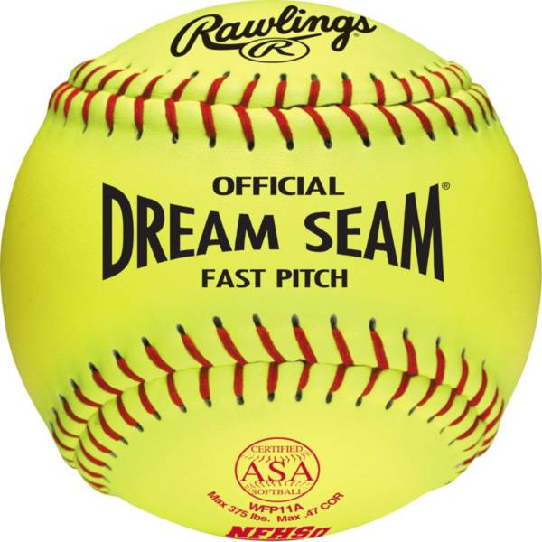 "Worth 11"" ASAH/NFHS Official Dream Seam Fastpitch Softball product image"