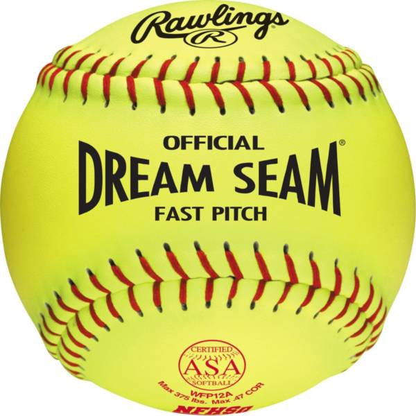 """Rawlings 12"""" ASA/NFHS Official Dream Seam Fastpitch Softball product image"""