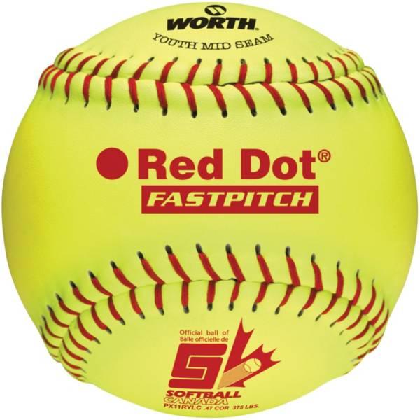 """Rawlings 11"""" ASA Red Dot Fastpitch Softball product image"""