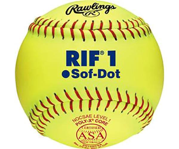 """Rawlings 10"""" RIF Sof-Dot ASA Fastpitch Softball product image"""