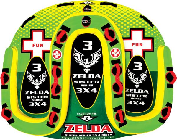 WOW Zelda 3 Person Sister Towable Tube product image