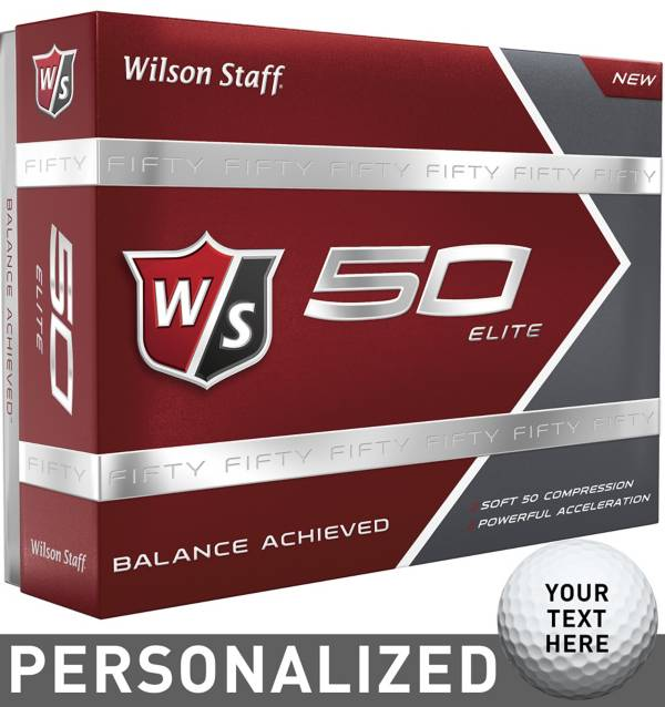 Wilson Staff Fifty Elite Personalized Golf Balls product image
